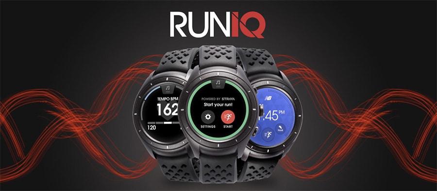 Smartwatches 2017 New Balance RunIQ