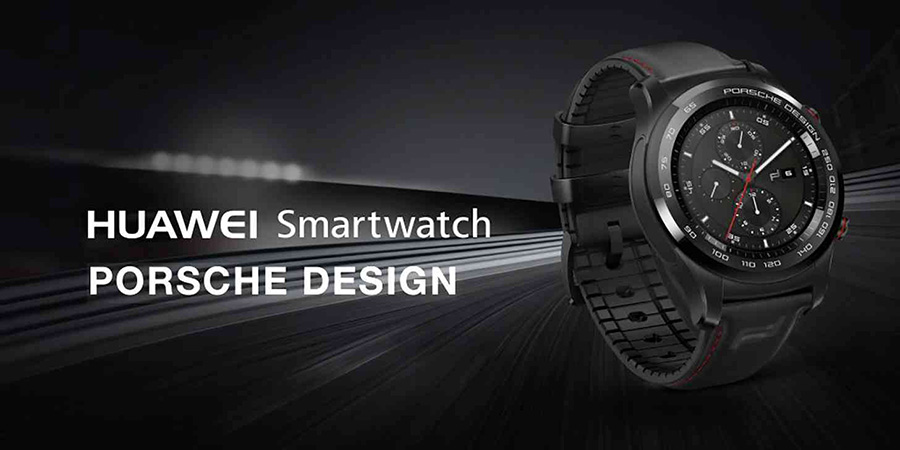 huawei watch 2 porsche design premium smartwatch im sportlook. Black Bedroom Furniture Sets. Home Design Ideas