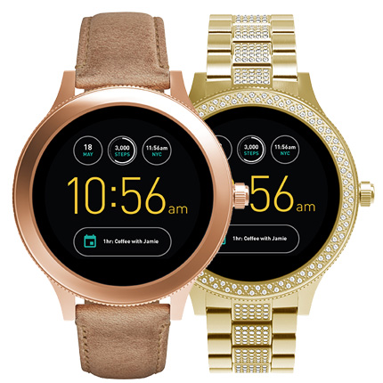 fossil q venture an dieser damen smartwatch kommt man nicht vorbei. Black Bedroom Furniture Sets. Home Design Ideas