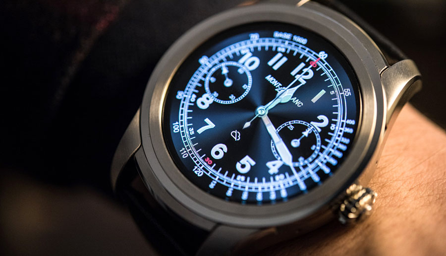 """Die erste Montblanc Smartwatch kommt und hört auf den Namen """"Summit"""". Die intelligente Uhr läuft mit android wear 2.0. Wir haben alle Infos sowie eine Ersteinschätzung der Montblanc Summit."""
