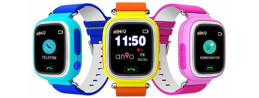 Anio Two alle GPS Kinder Uhren