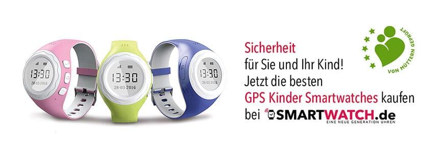 Kinder Smartwatches und GPS Kinder Uhren bei Smartwatch.de