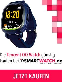 Die Tencent QQ Watch günstig kaufen bei Smartwatch.de /