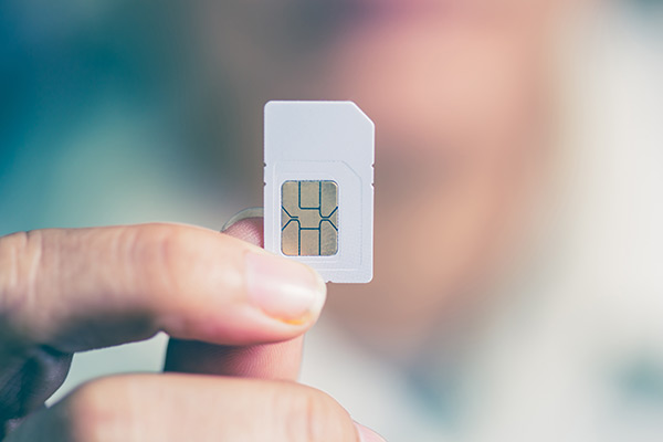 Smartwatch SIM Karte 1