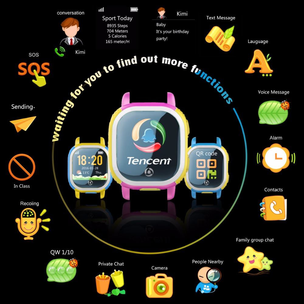 Tencent QQ Watch Funktionen 2