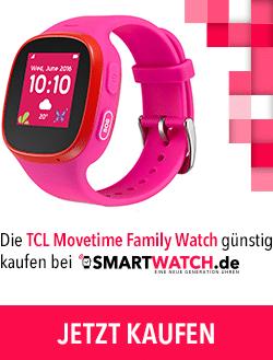 Die Alcatel TCL Movetime Family Watch günstig kaufen bei Smartwatch.de