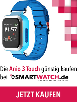 anio 3 gps kinder uhr smartwatch. Black Bedroom Furniture Sets. Home Design Ideas