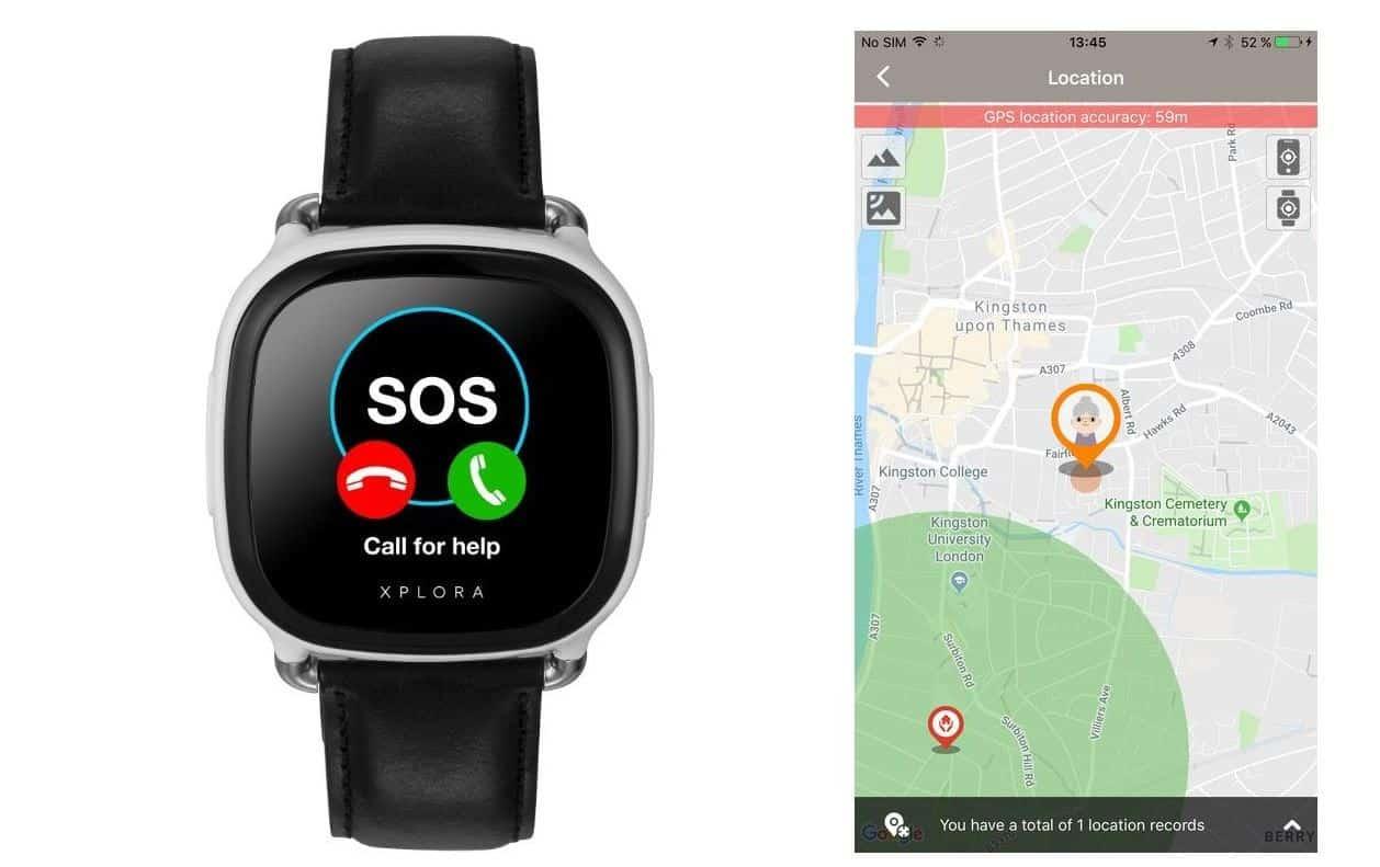 xplora care senioren smartwatch 2