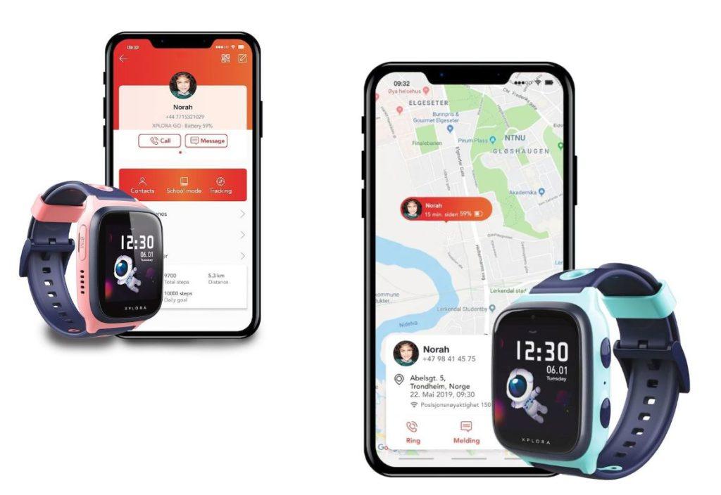 Xplora X4 Kinder Smartwatch mit Smartphone